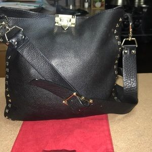 Valentino Garavani Rock Stud Messenger Bag1hr sale
